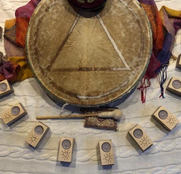 Vayana heiler- & Intuitionstrainer Ausbildung - schamanische Trommel