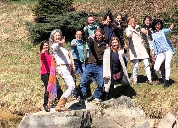 Vayana heiler- & Intuitionstrainer Ausbildung - Gruppenfoto der Teilnehmer
