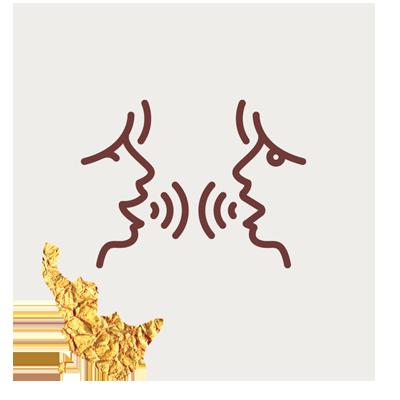 Vayana - einfach sein - eigenes Icon by minuteman - blinde Situationsdarstellung - Nachgespräch in der Gruppe