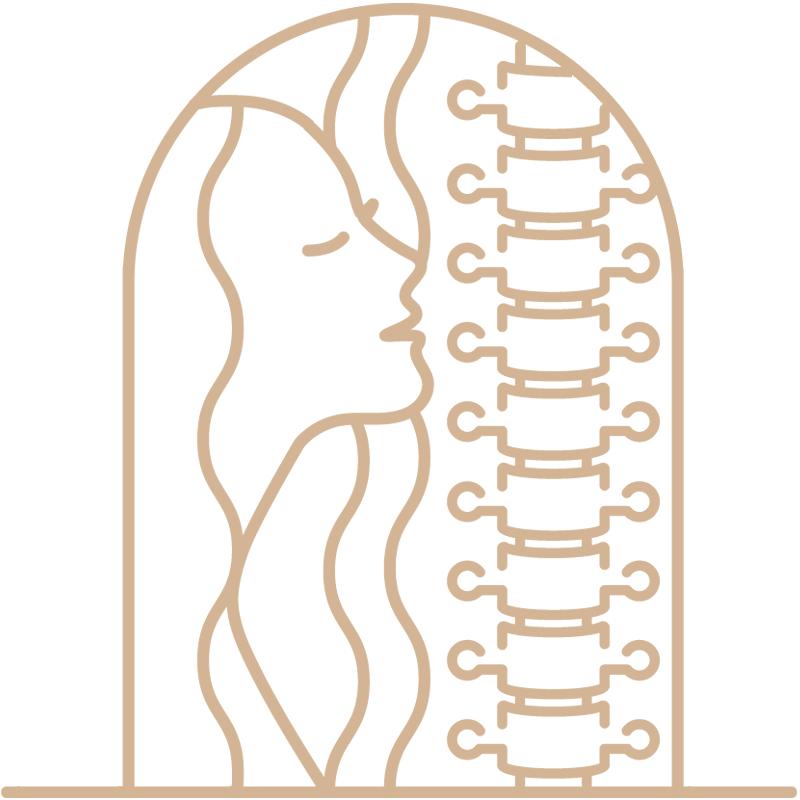 Vayana - einfach sein - eigenes Icon by minuteman - Carnio Sacral Arbeit - Farbe: Leinen Flachs
