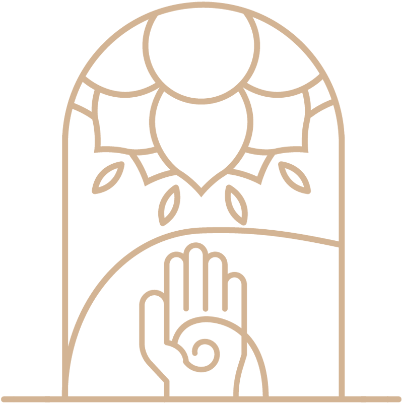 Vayana - einfach sein - eigenes Icon by minuteman - Energetik - Farbe: Leinen Flachs