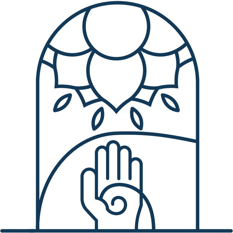 Vayana - einfach sein - eigenes Icon by minuteman - Energetik - Farbe: tiefe See