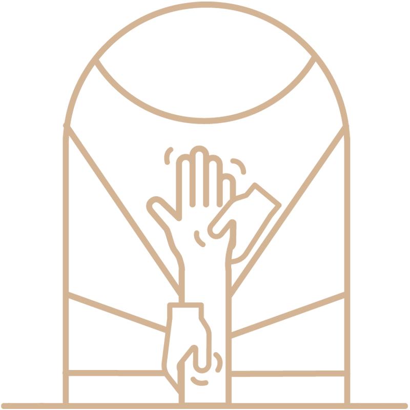 Vayana - einfach sein - eigenes Icon by minuteman - Kinesiologie - Farbe: Leinen Flachs