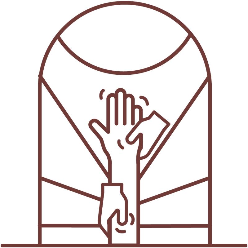 Vayana - einfach sein - eigenes Icon by minuteman - Kinesiologie - Farbe: warme Erde