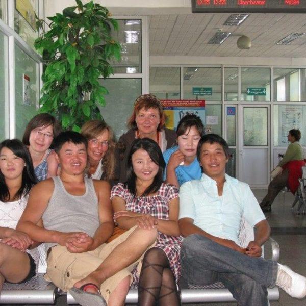 Vayana Josefine in der Mongolei - Treffen mit den Seminarteilnehmern