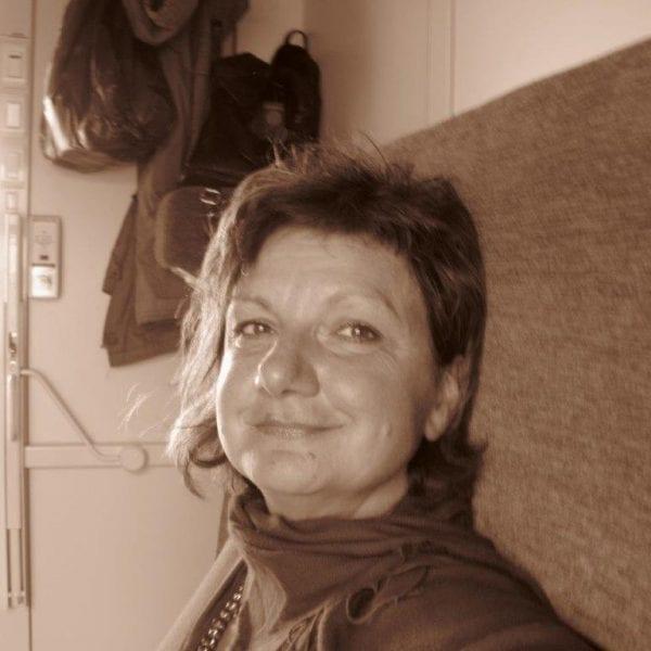 Vayana Josefine in der Mongolei - Josefine im Zug in die Mongolei
