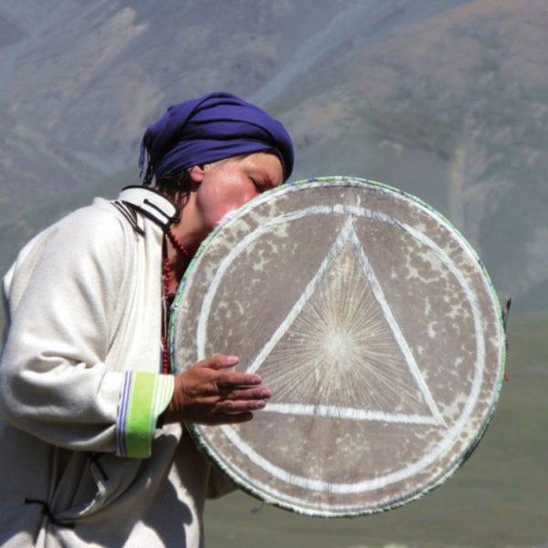 Vayana Josefine in der Mongolei - die Schamanin in der Mongolei